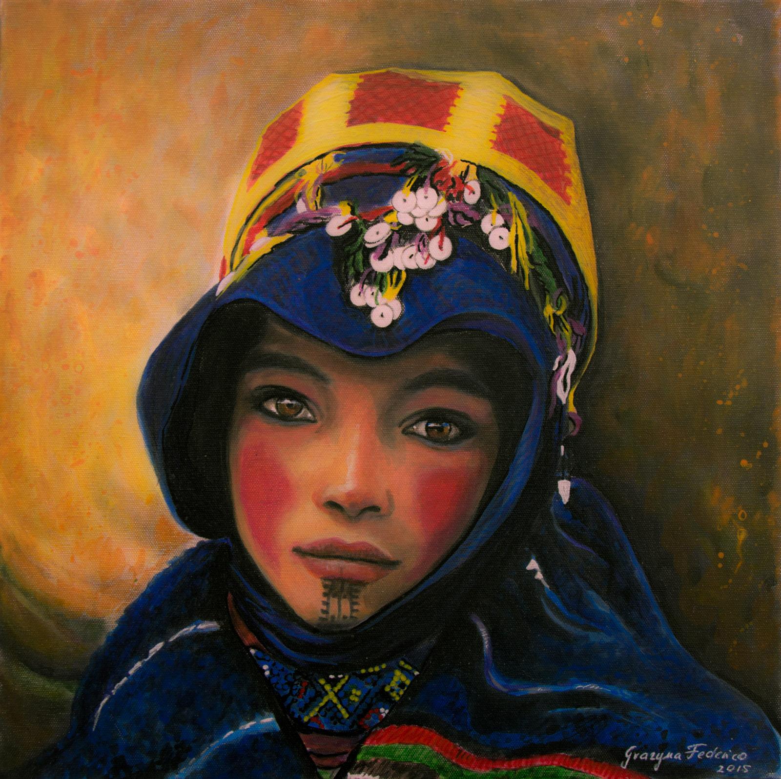 Die junge Berberin